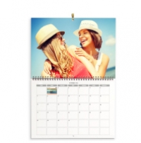 Le calendrier mural double